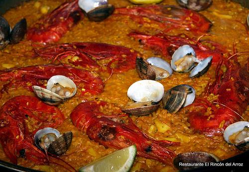 paella de Carabineros...